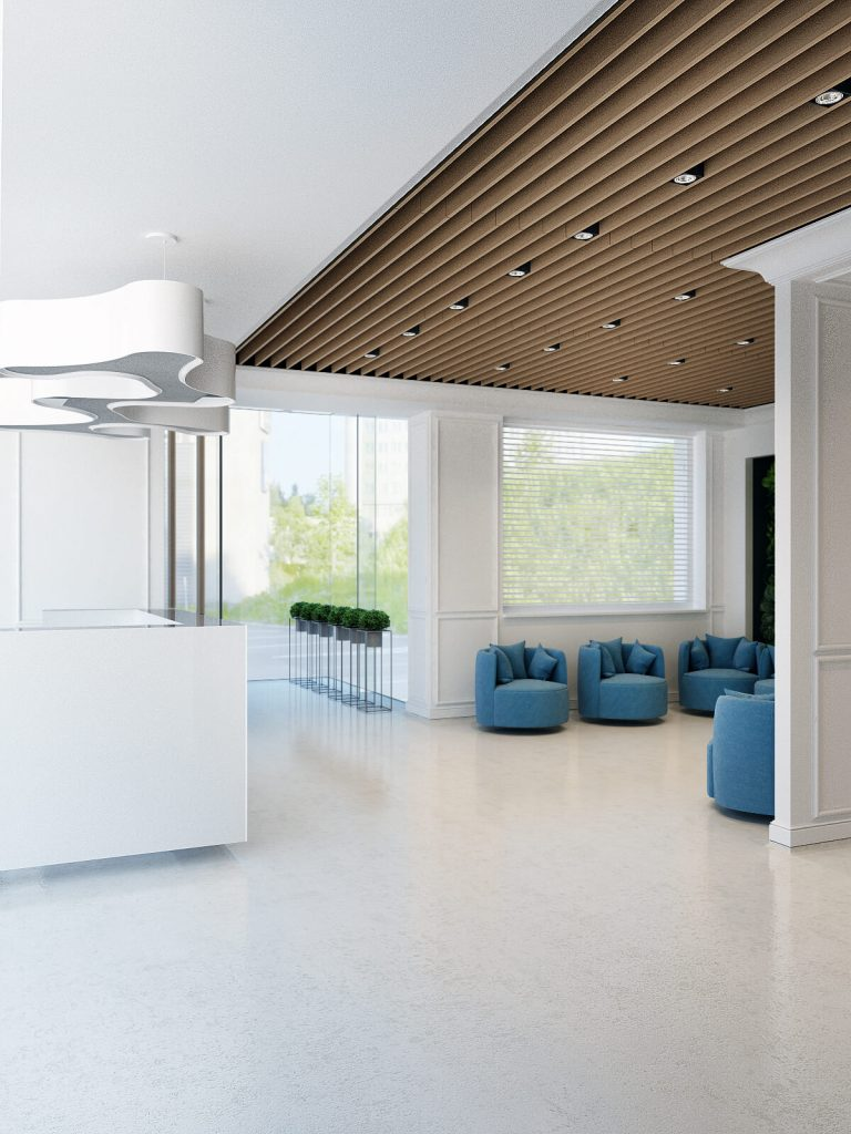 Dental studio interior design concepts