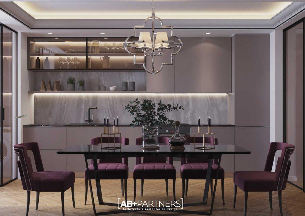 Design Interior Apartament Stil neoclasic
