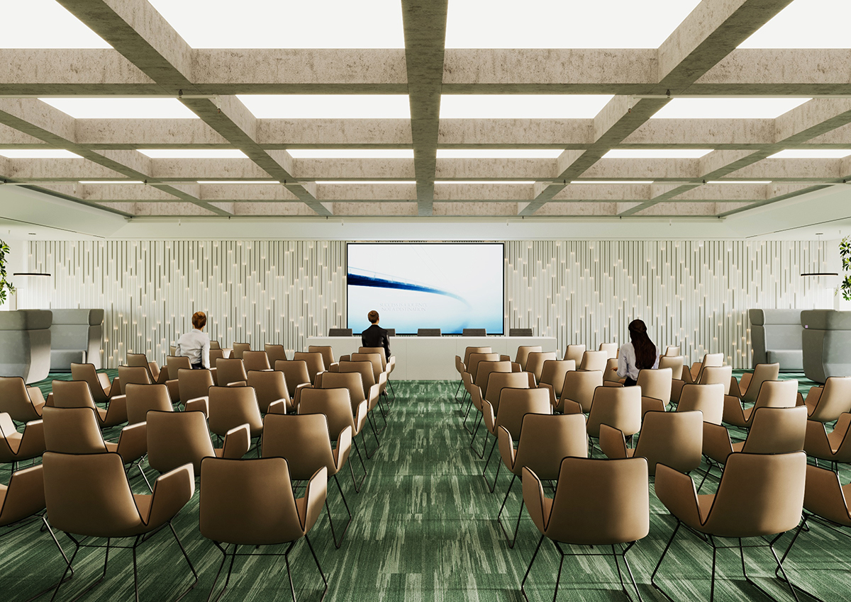 Conference Hall. Toro Center
