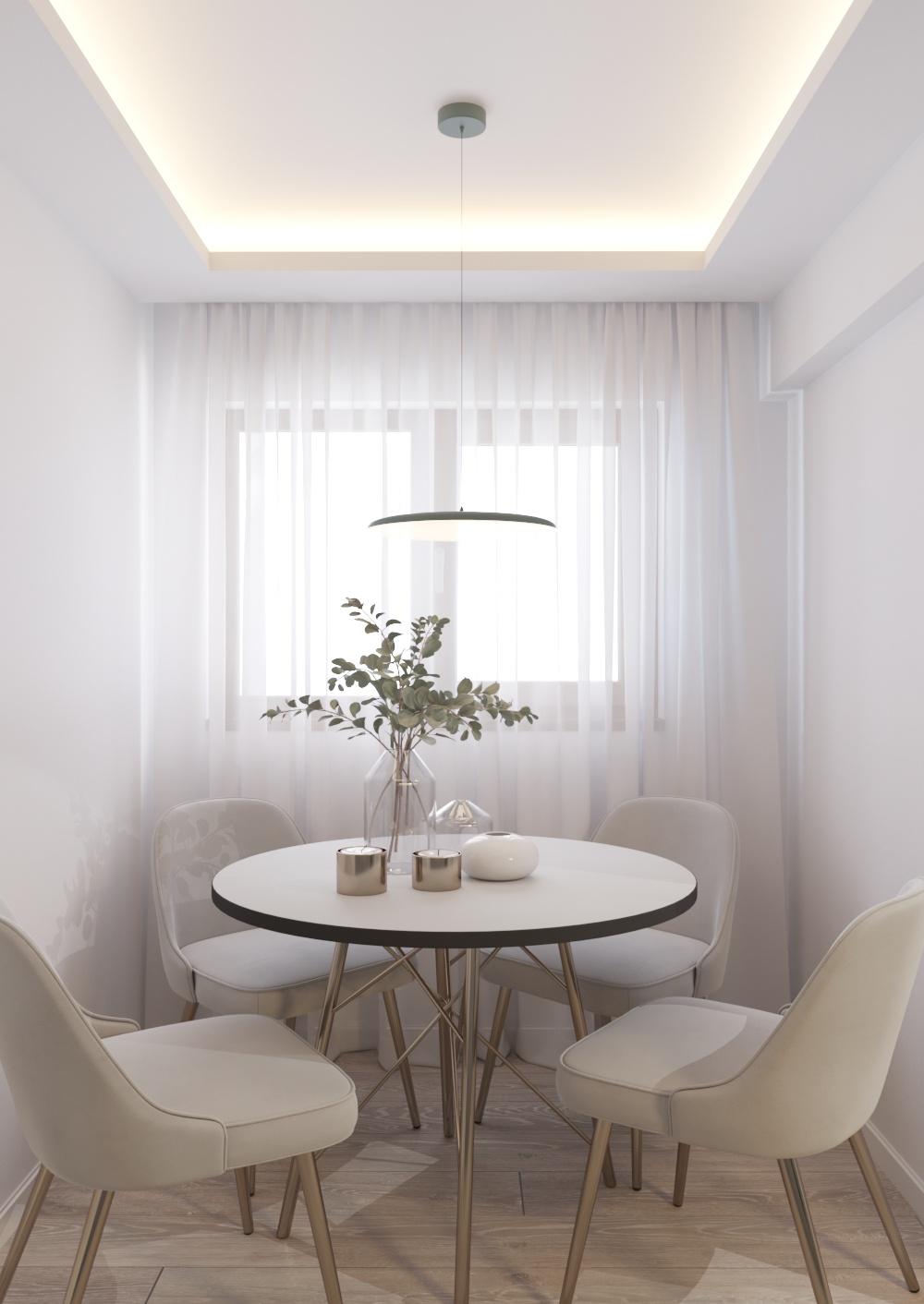Apartment interior design in Constanta