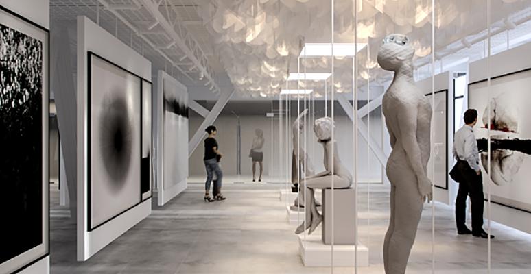 Exhibition hall- Toro Center