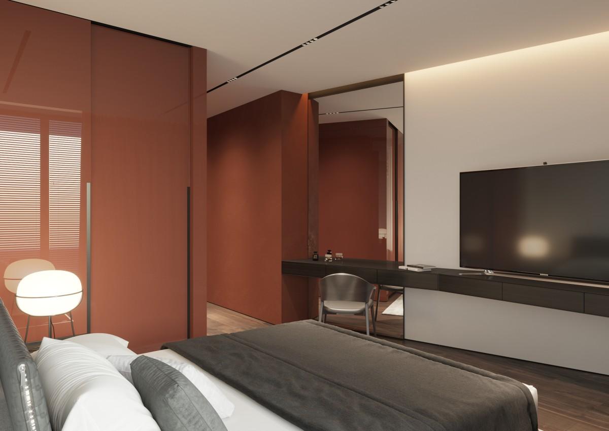 Modern Minimalist Penthouse