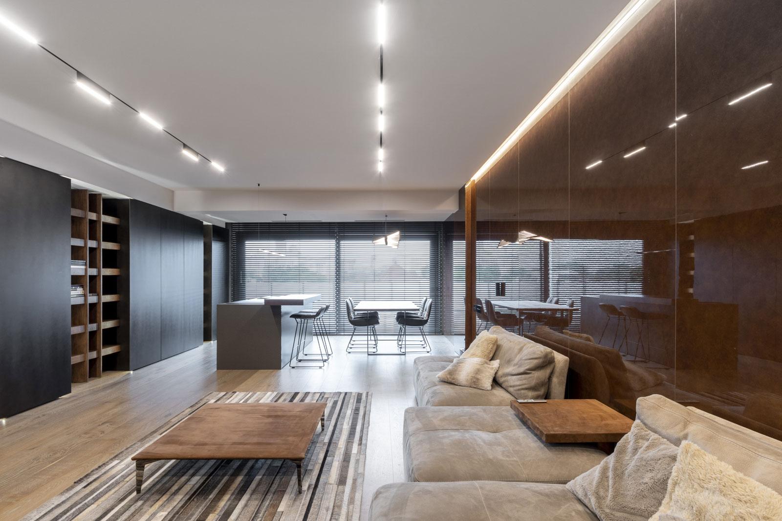 Design interior apartament stil minimalist