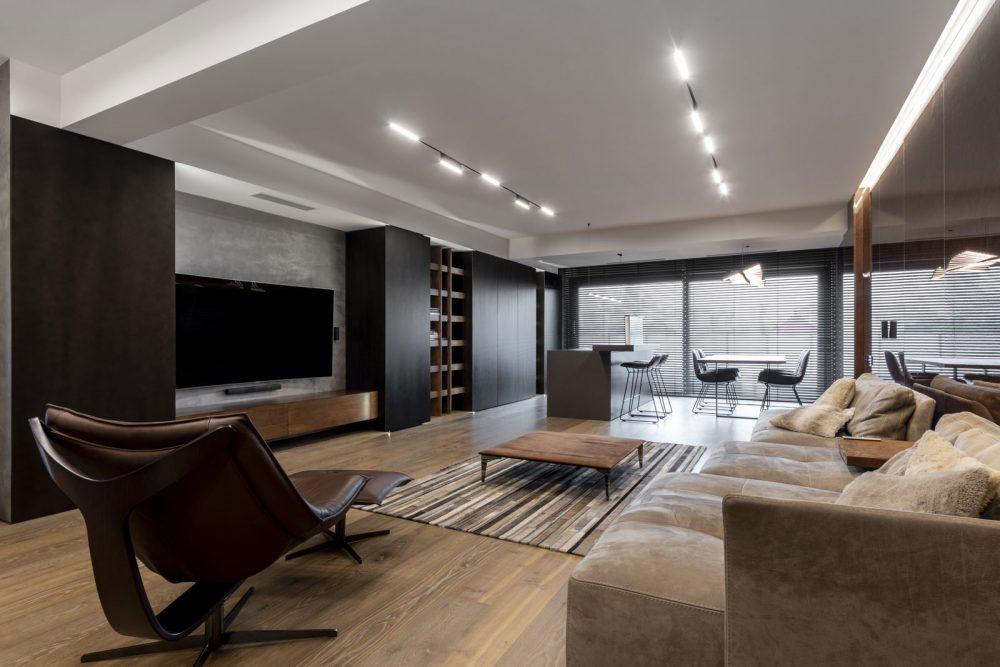 Design interior apartament chisinau stil minimalist
