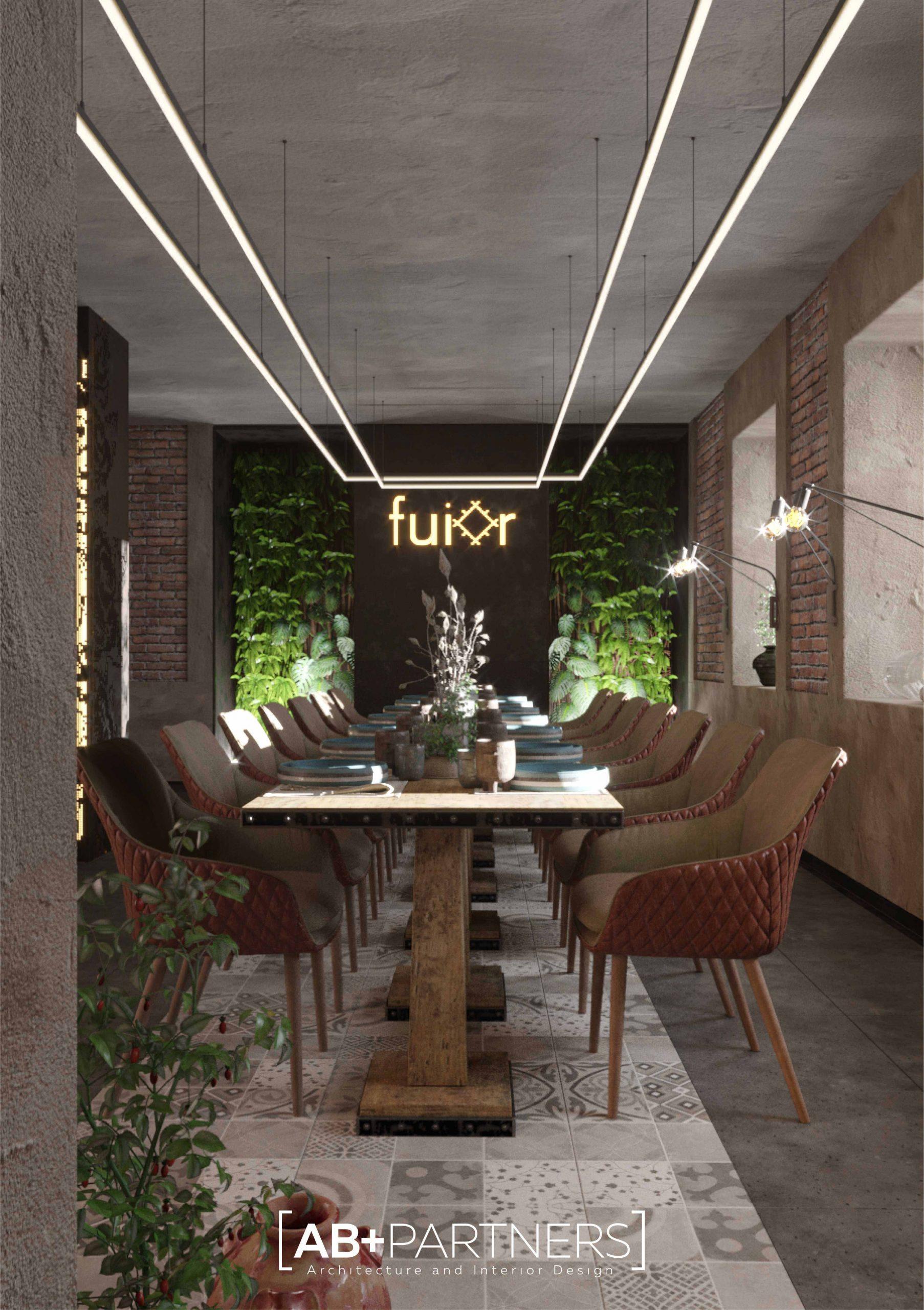 Фуйор - ресторан в Кишиневе с обновленным традиционным дизайном