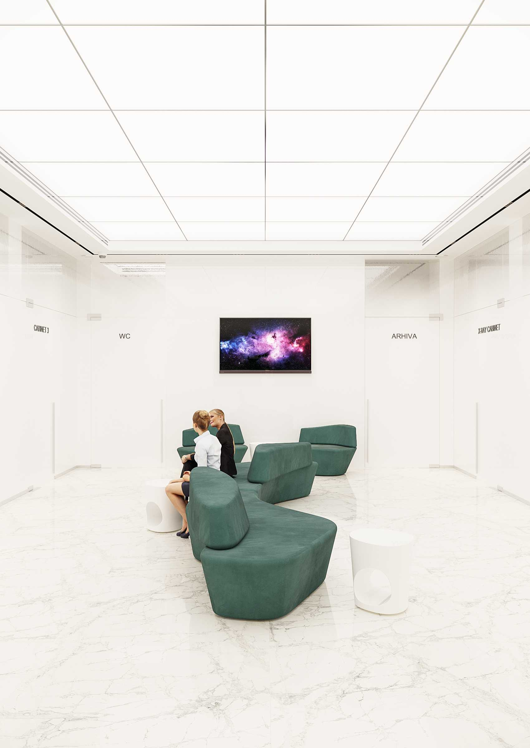 Design interior clinica stomatologica