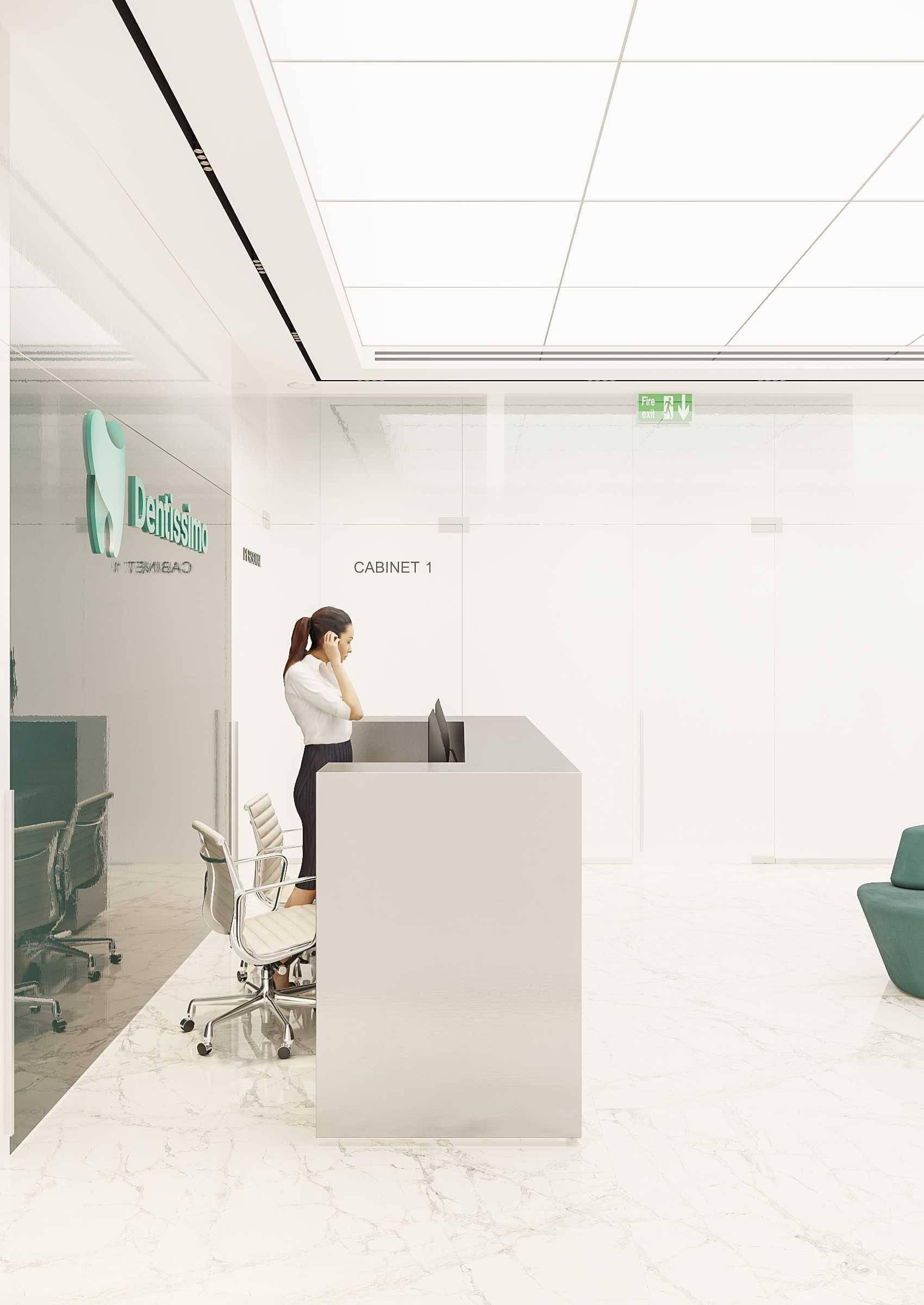 Стоматологическая клиника  - абсолютная свобода белого