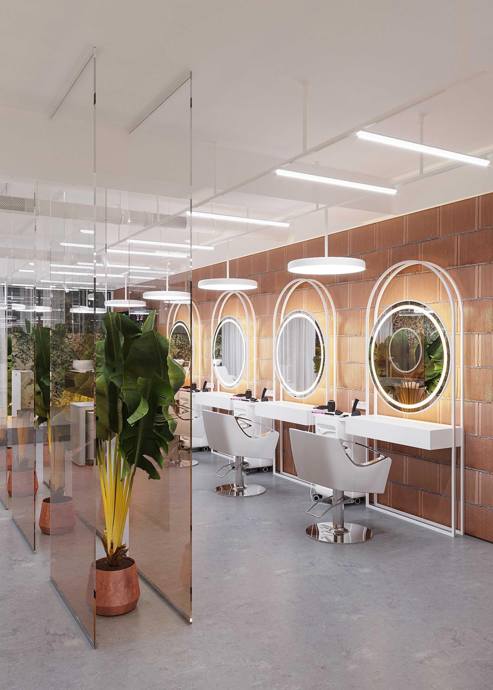 Design interior salon de frumusete