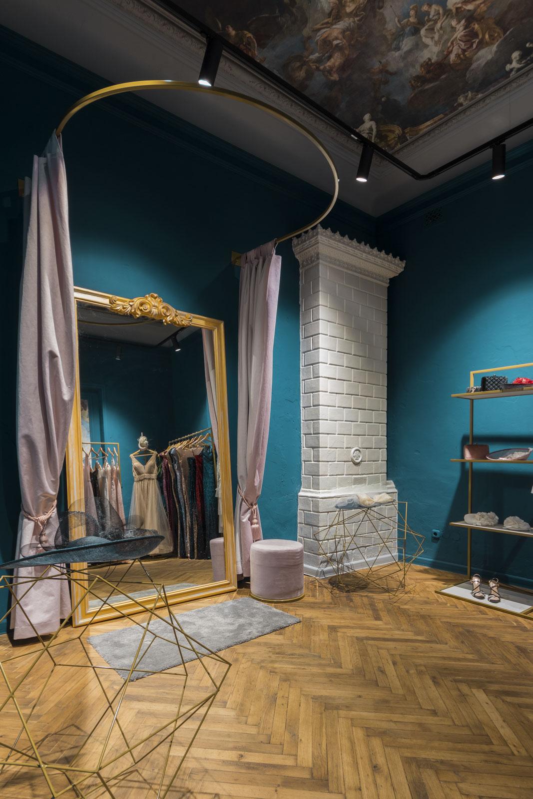 design interior magazin Florence