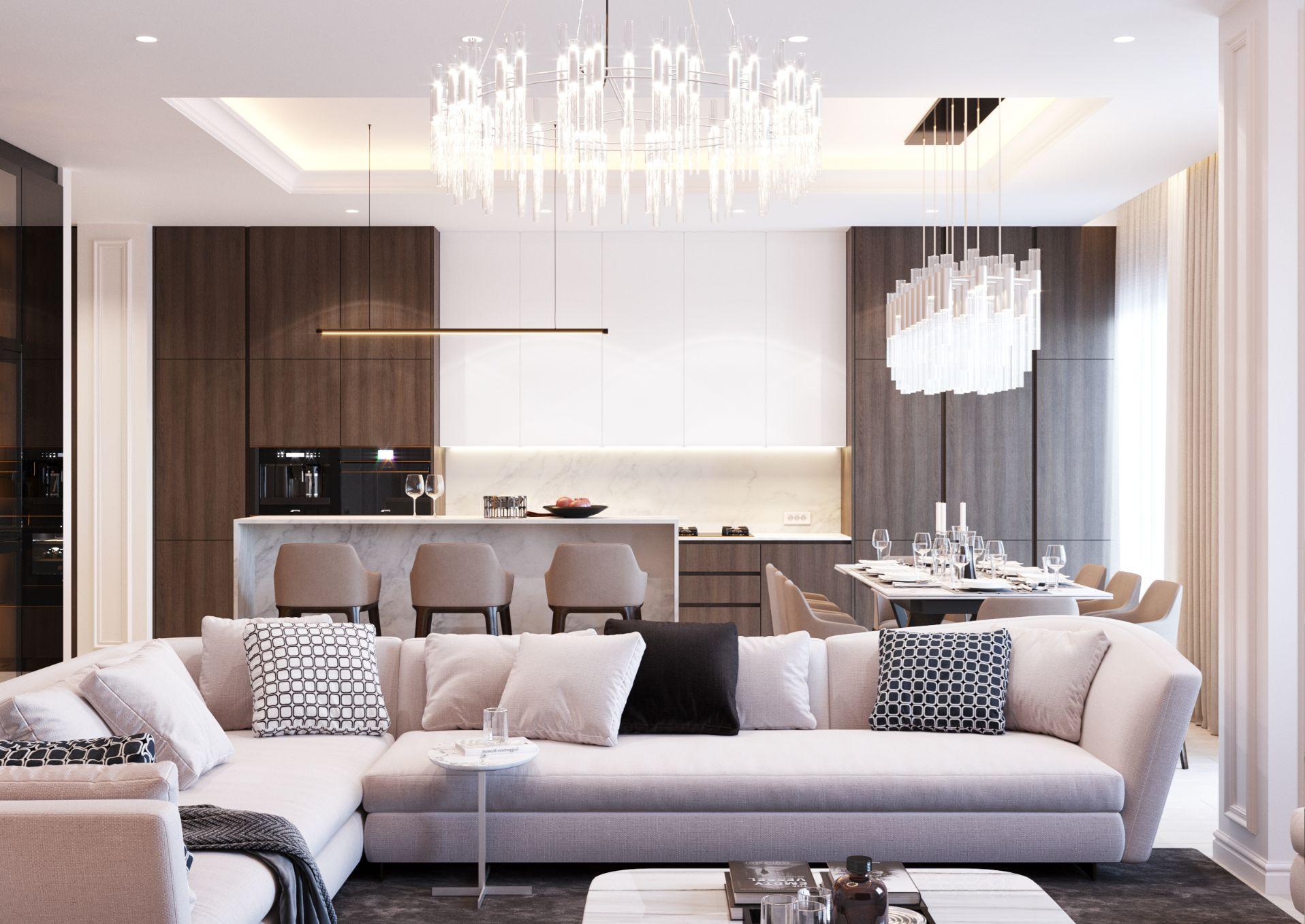 Penthouse Chisinau Interior Design