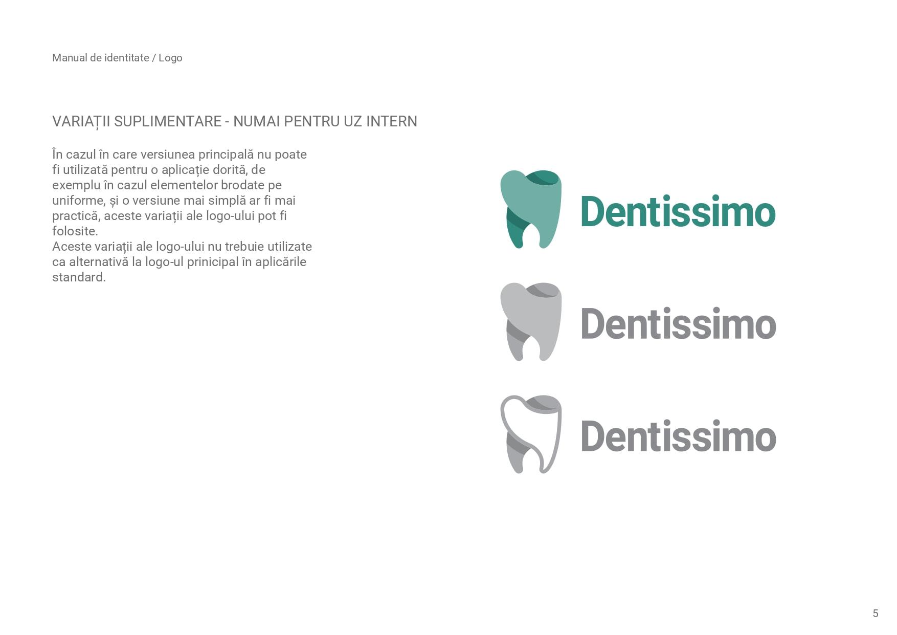 creare logo Dentissimo
