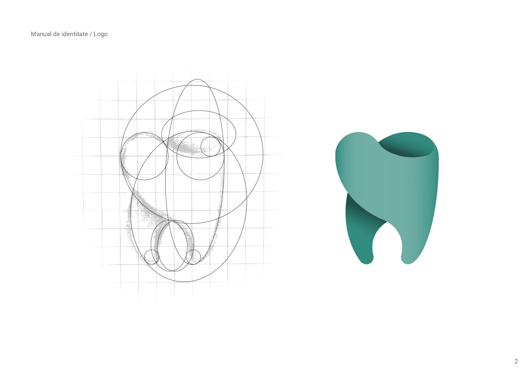 creare identitate vizuala Dentissimo