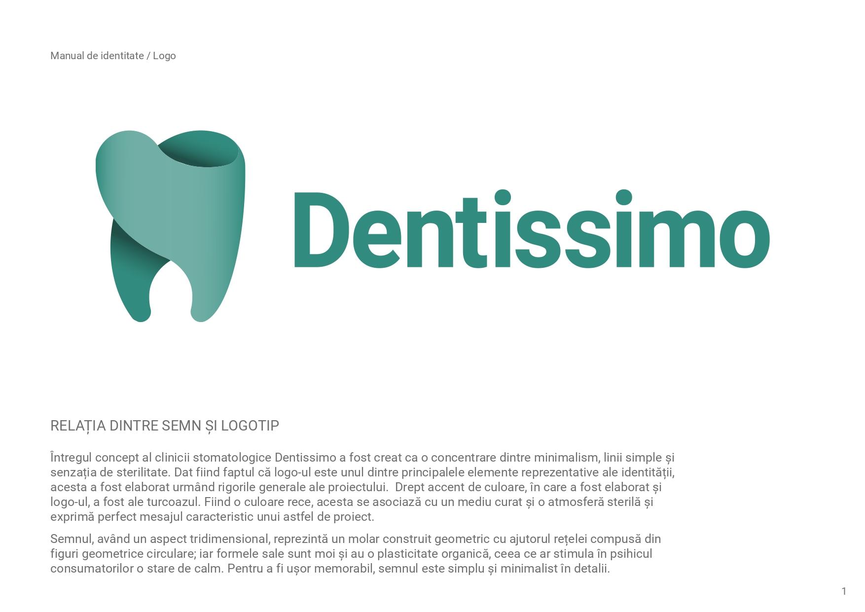 Dentissimo identitate vizuala