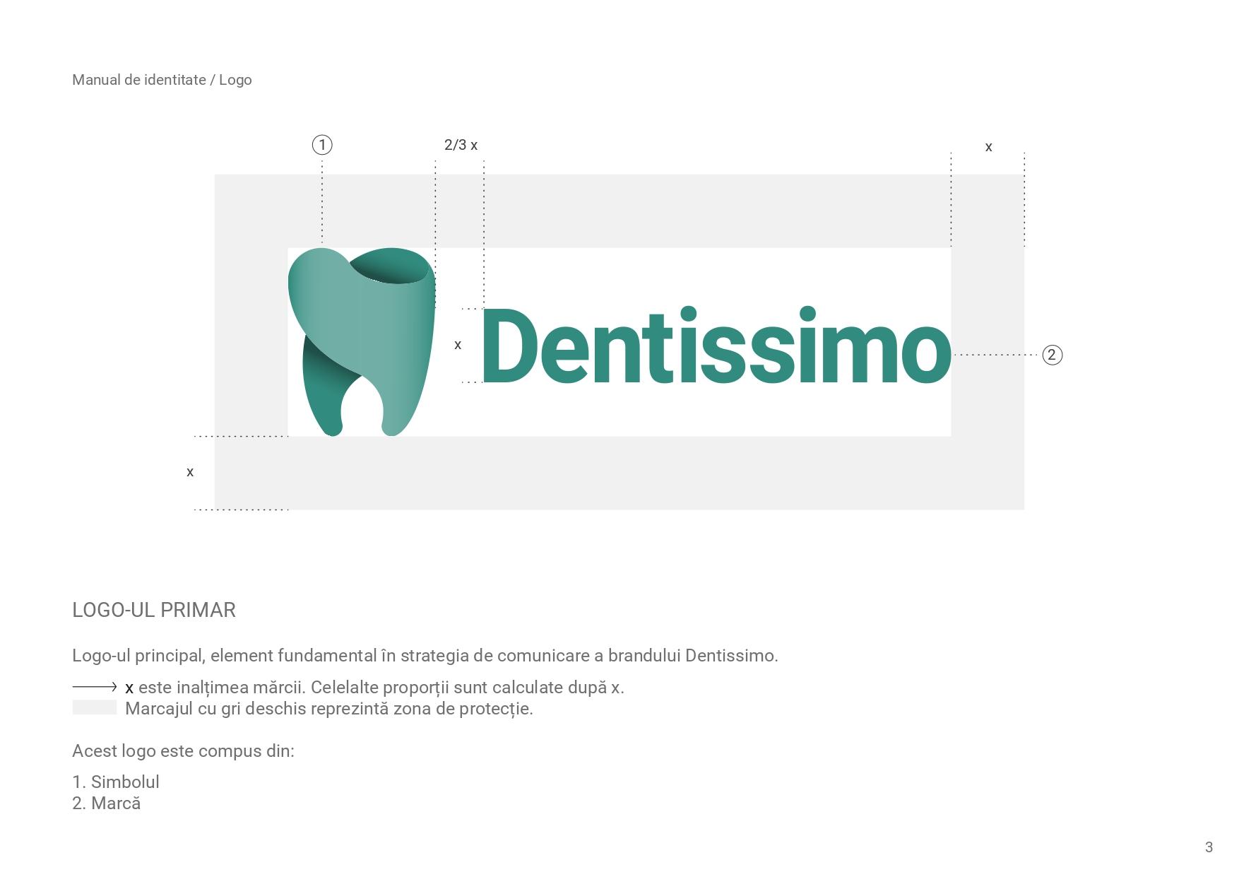 identitate vizuala Dentissimo