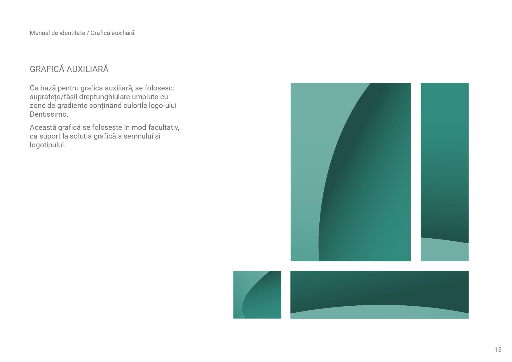 grafica auxiliara logo Dentissimo
