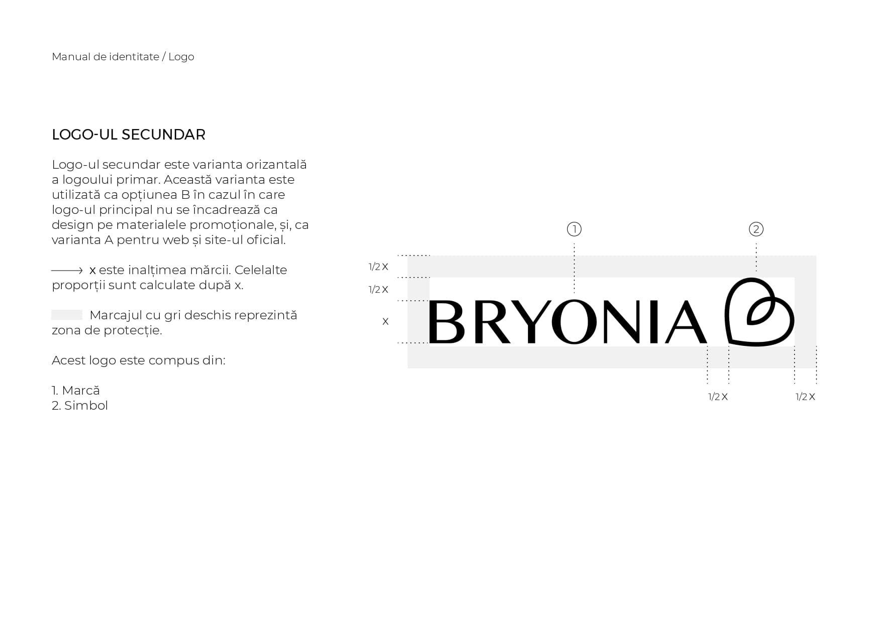 Bryonia - Branding și Identitate