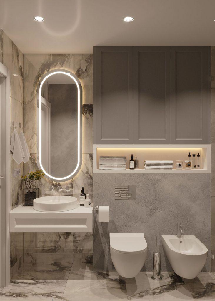 design baie in stil contemporan