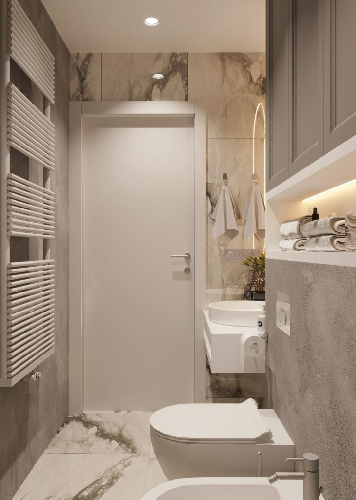 design de interior baie stil contemporan