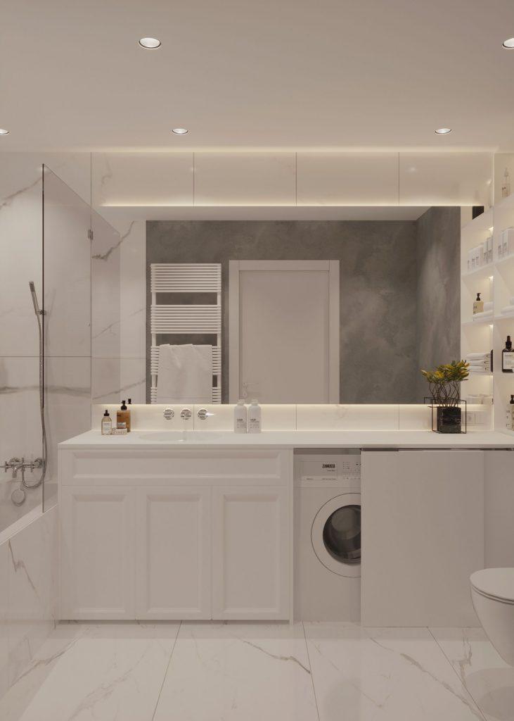 amenajare interioara baie