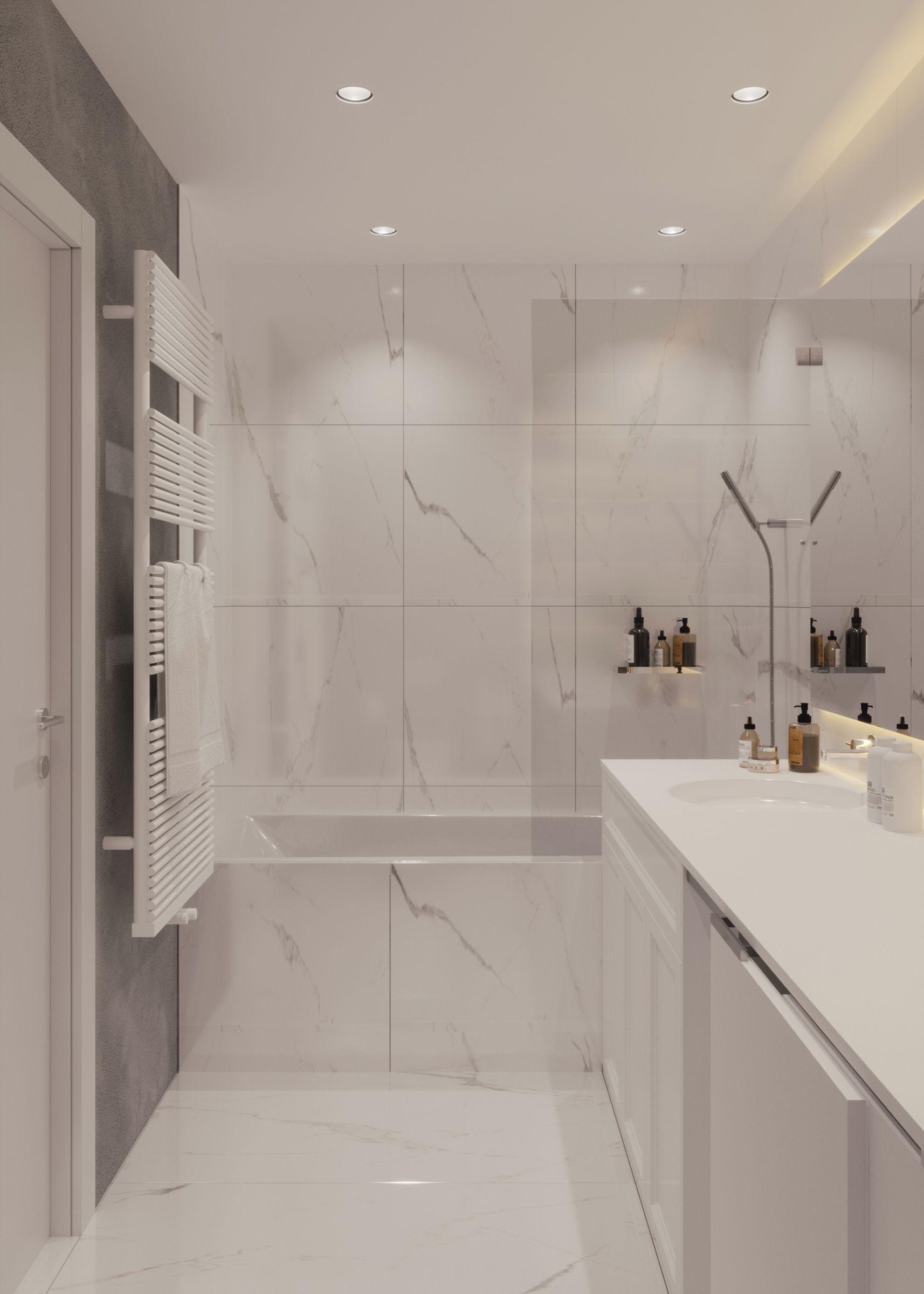 stilul contemporan pentru baie