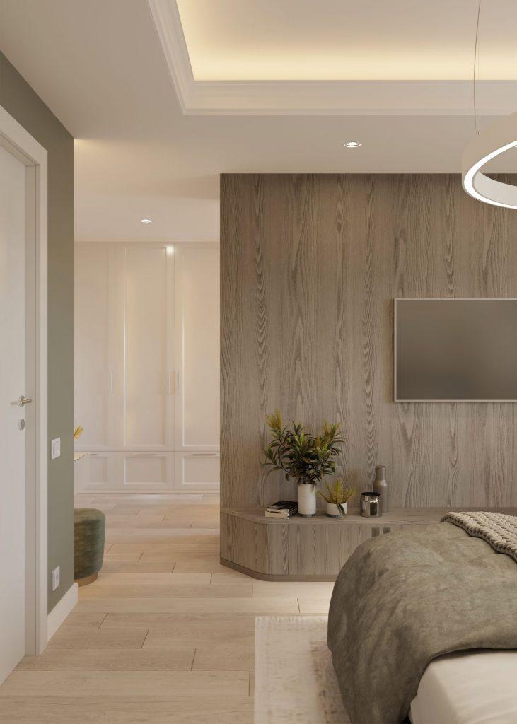 design contemporan dormitor