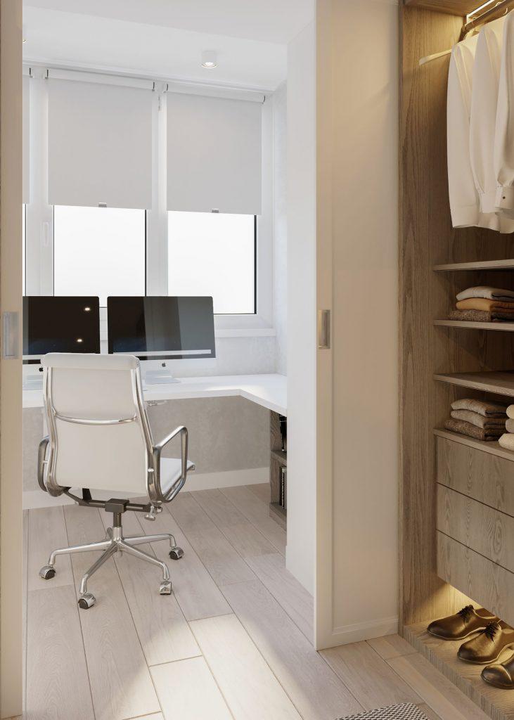 interior in stil contemporan pentru birou