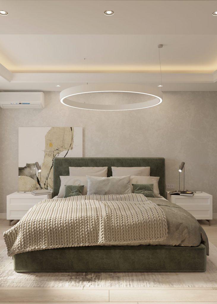 amenajare dormitor in stil contemporan