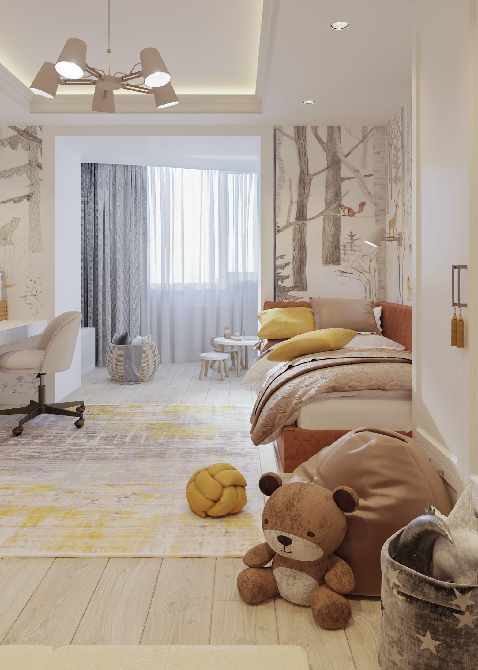 interior dormitor in stil contemporan