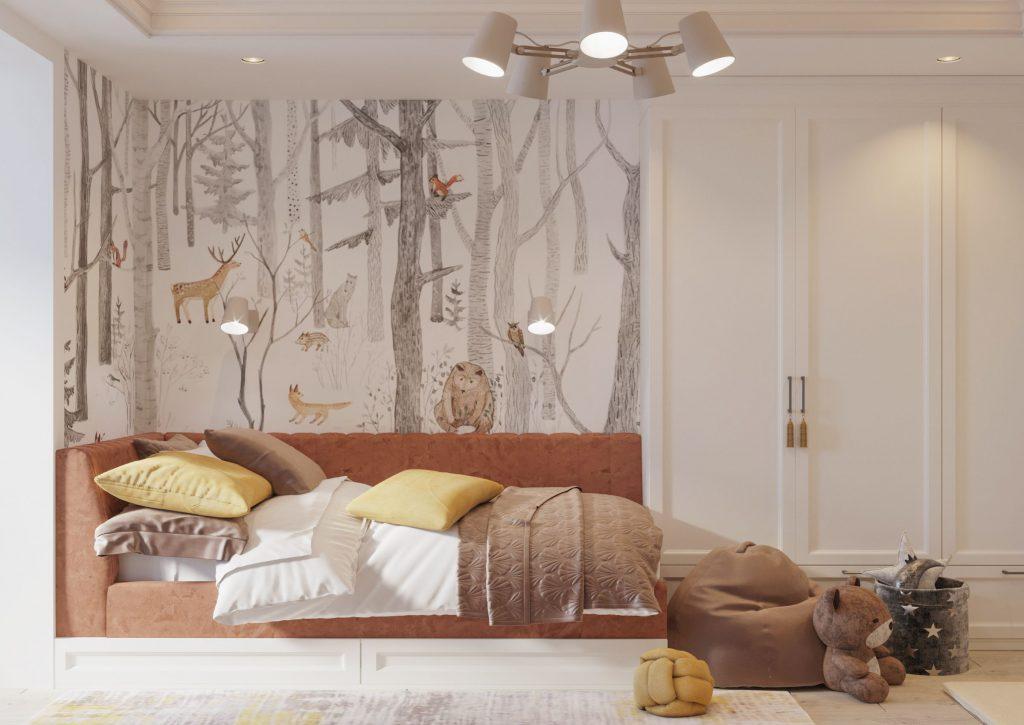 amenajare de interior dormitor pentru copii