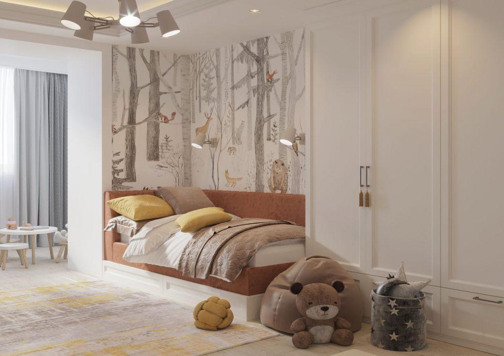 design de interior dormitor copii