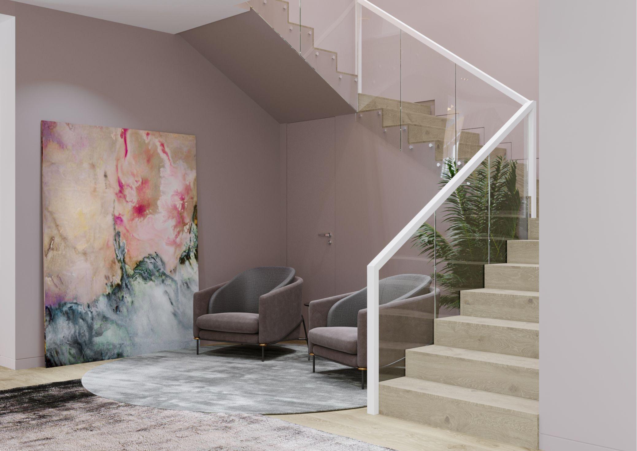 design de interior hol