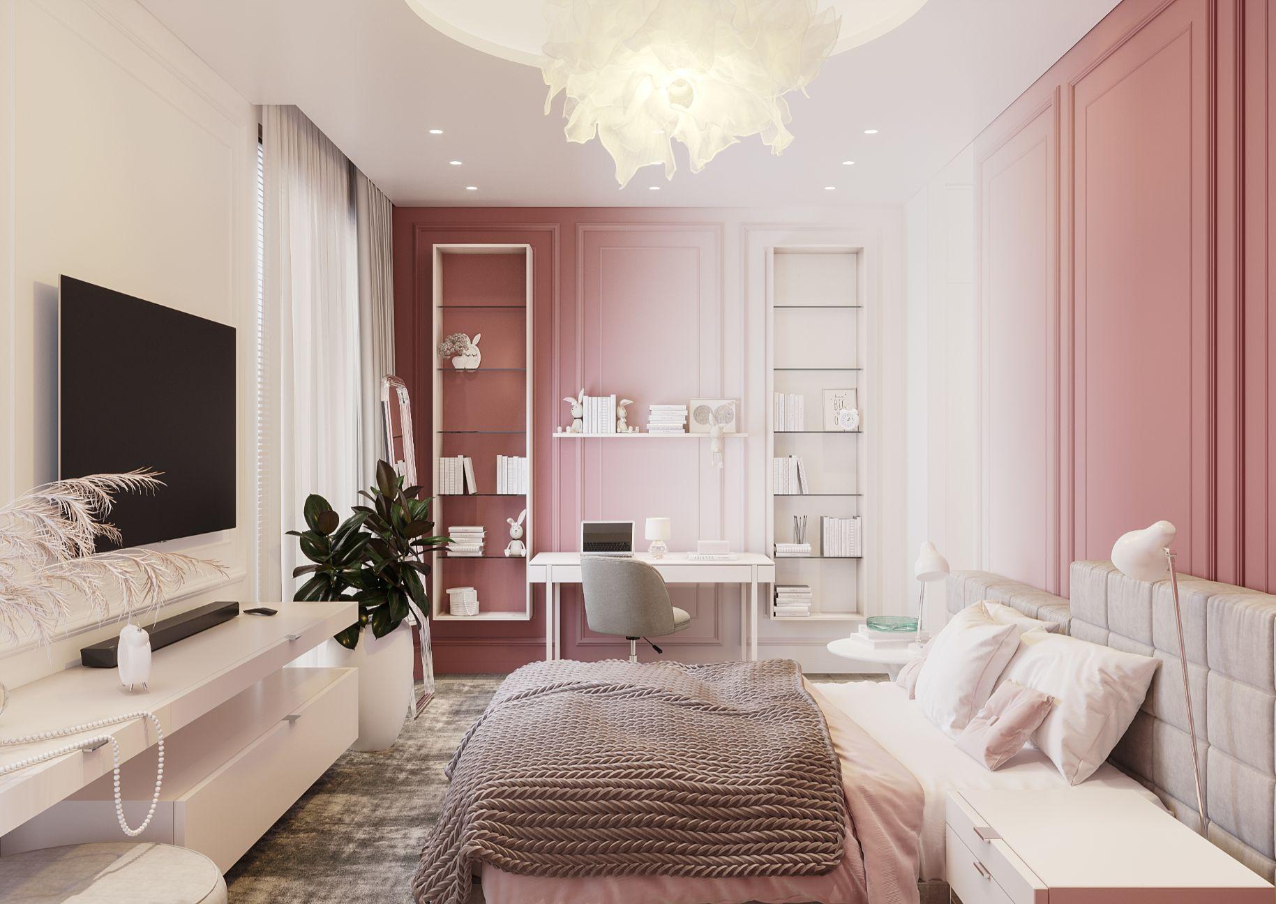 dormitor amenajare minimalista