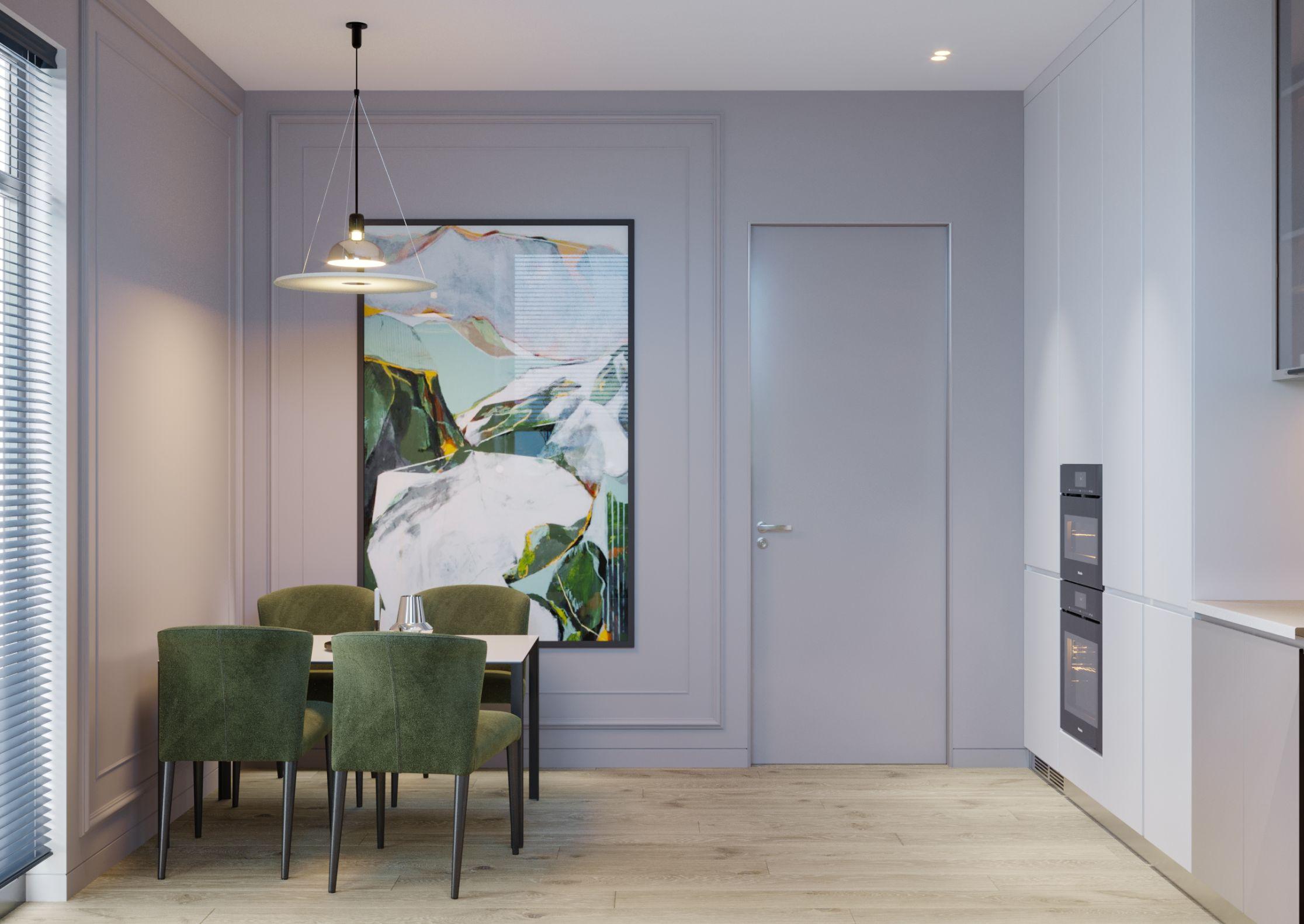 design interior bucatarie in stil minimalist