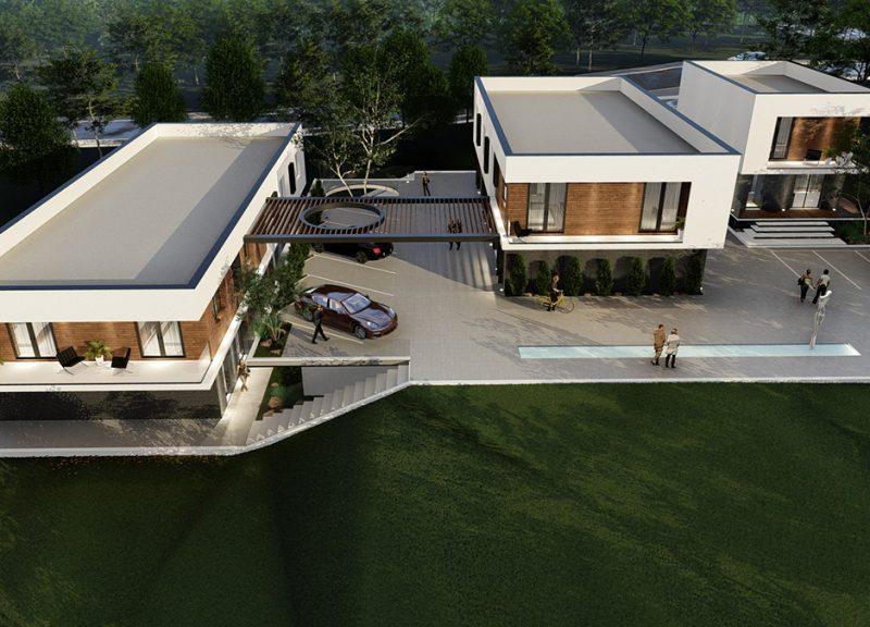 Hill Housing: când arhitectura casei se contopește cu relieful