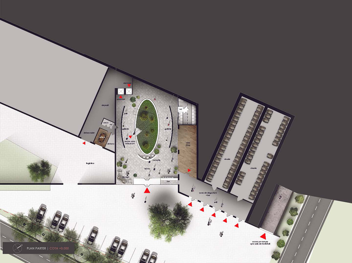 Просторы Ворничень - от простой винодельни до тщательно спроектированного архитектурного комплекса