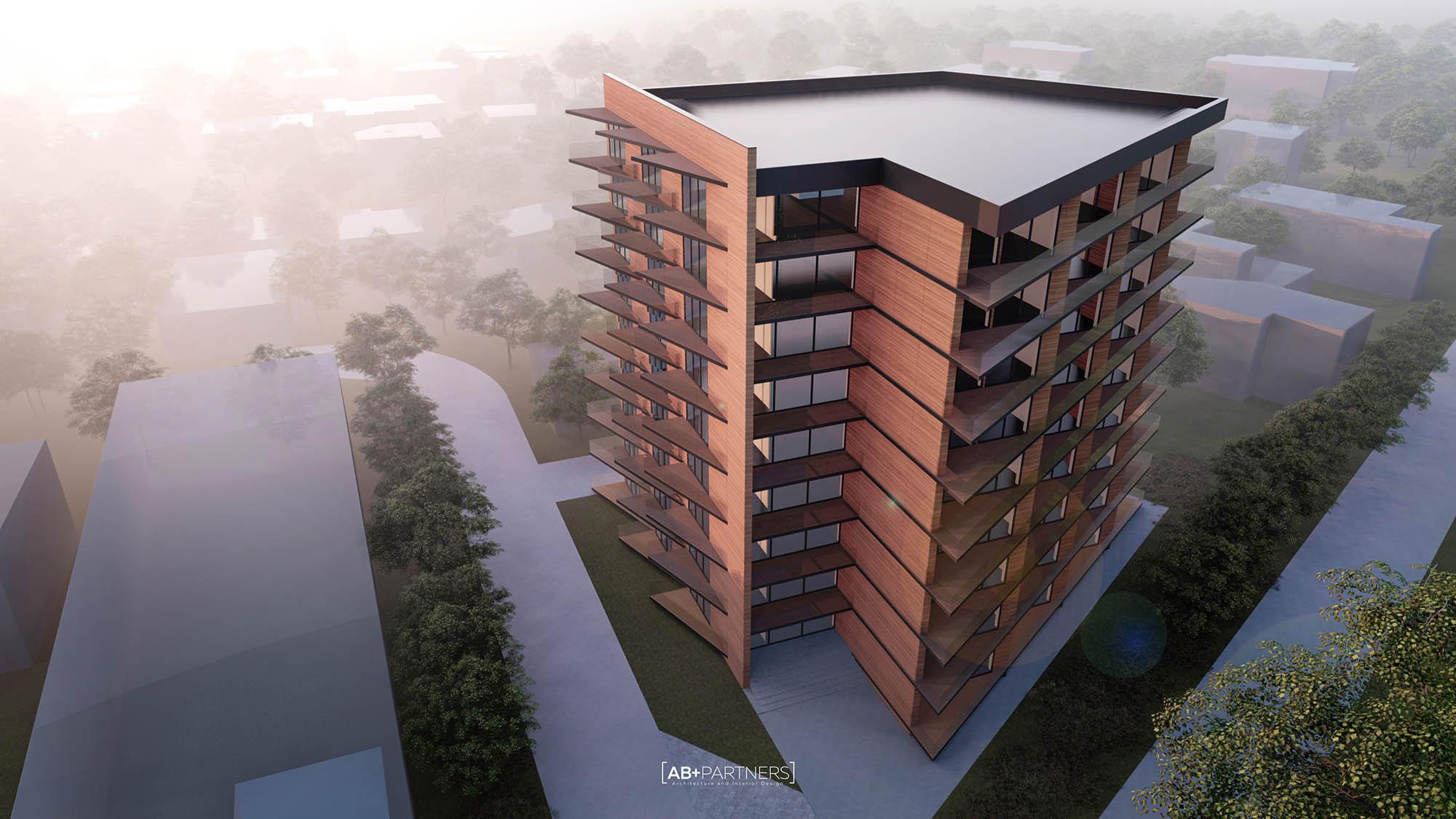 Edge Residence - proiectare arhitecturală ce reinterpretează liniile drepte