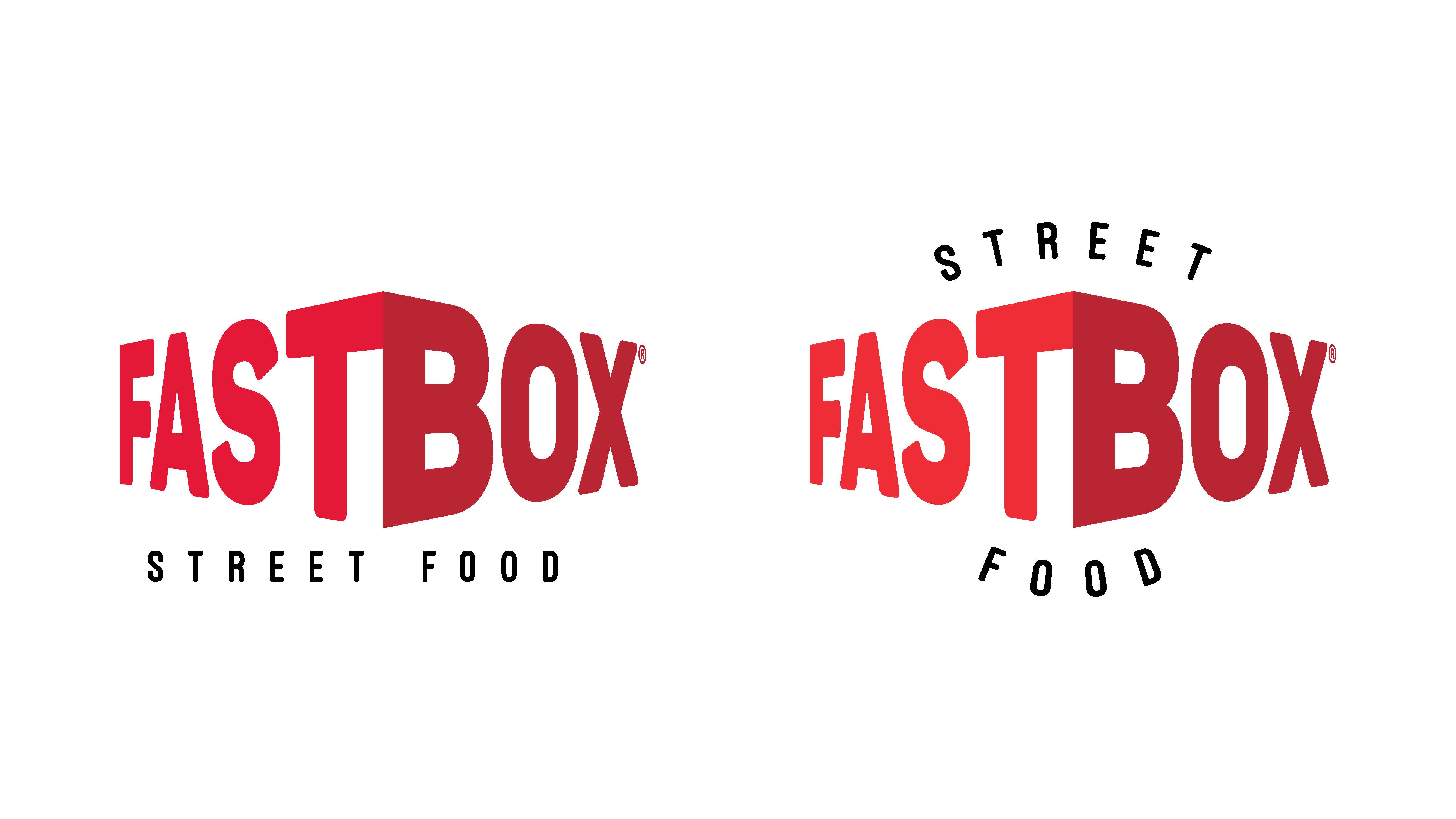 FastBox - the visual identity of a fast food restaurant