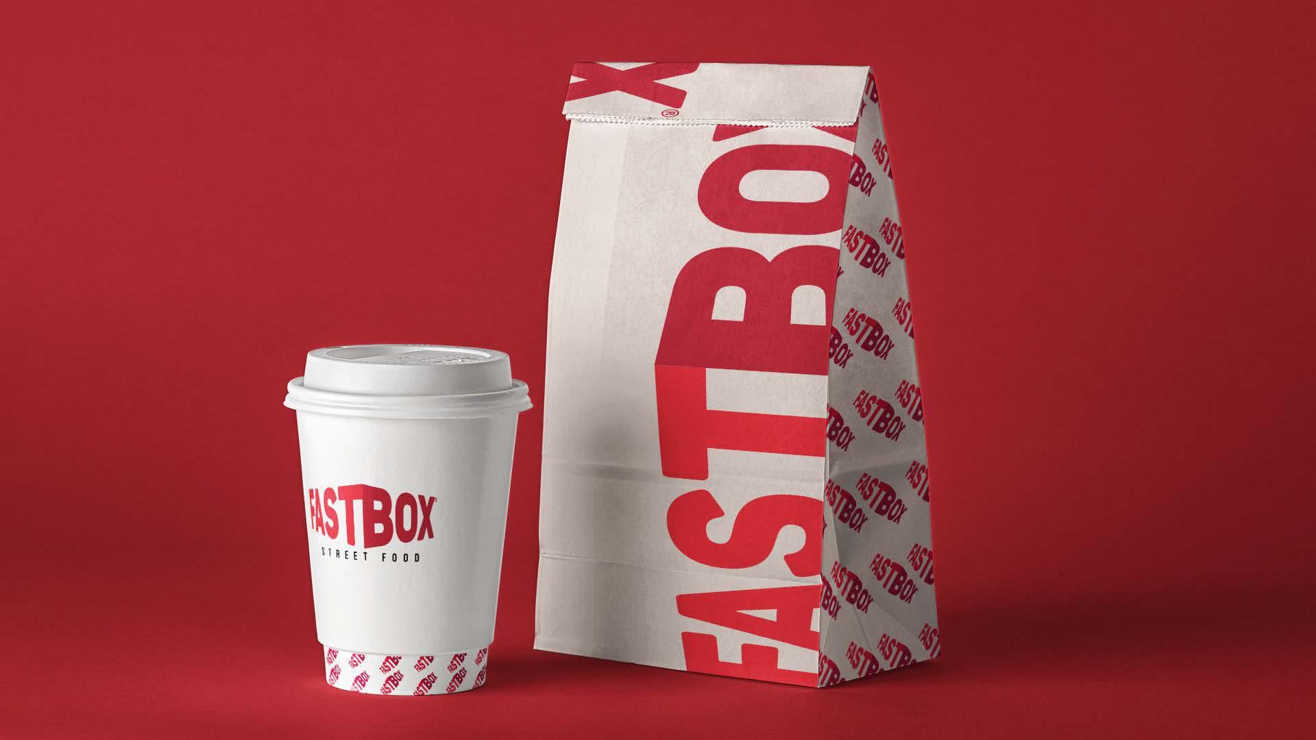 FastBox – identitate vizuală a unui restaurant de fast food