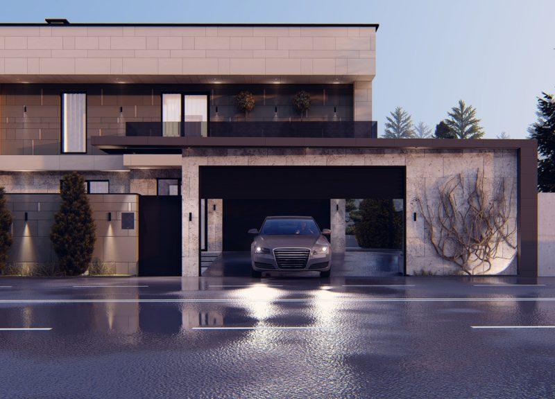 Современный дом – простота как гарант индивидуальности