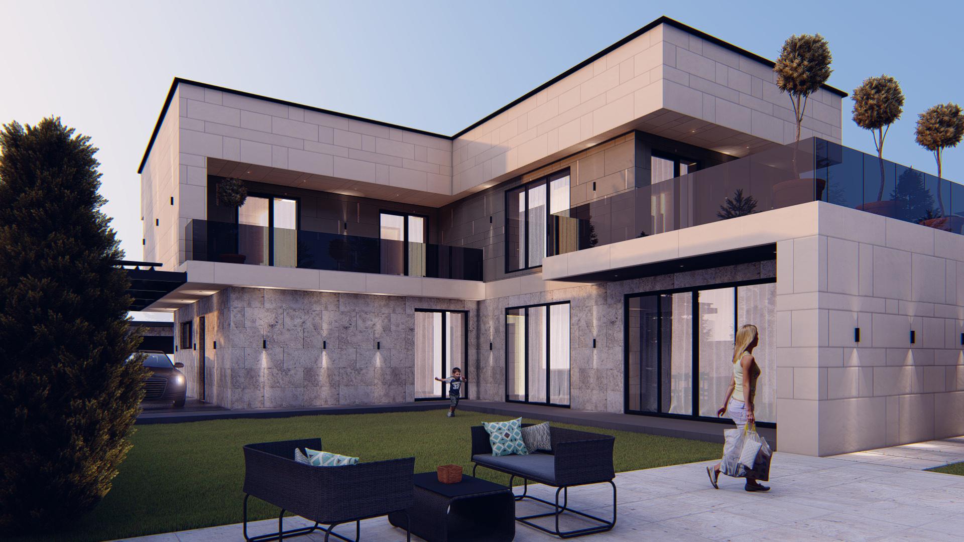 Modern House - design interior pentru locuința individuală de lux