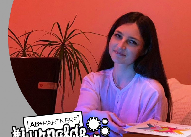 """#jurnaldecarantină – Cortac Cristina: """"Emoția în design nu se pronunță, ea se simte… chiar și în carantină"""""""