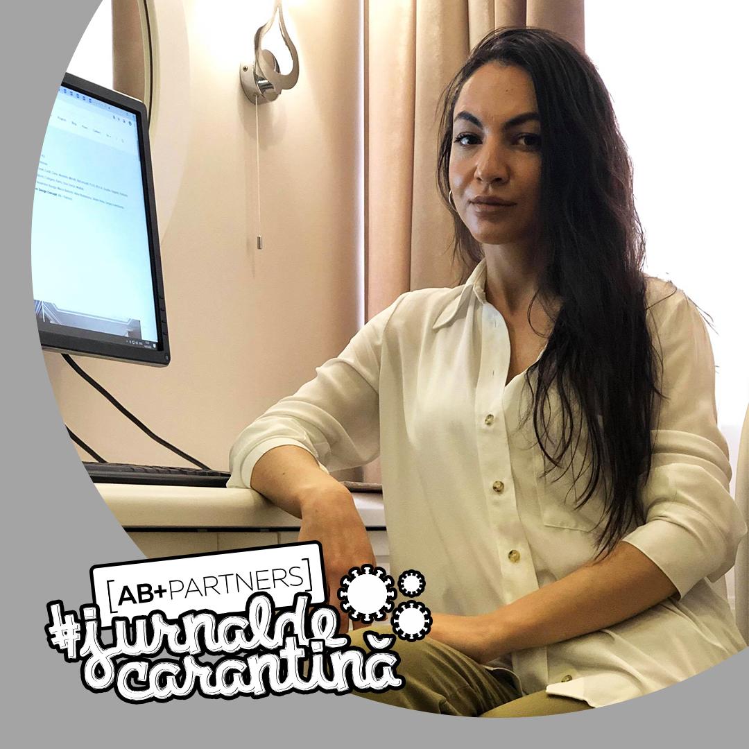 """#jurnaldecarantină – Gabriela Nacu despre cum să improvizezi acasă locul de muncă și """"Elixirul Sănătății"""""""