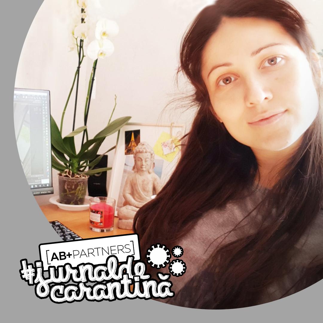 #jurnaldecarantină – Alina Bodișteanu: designerul care nu va reveni la birou după perioada de autoizolare