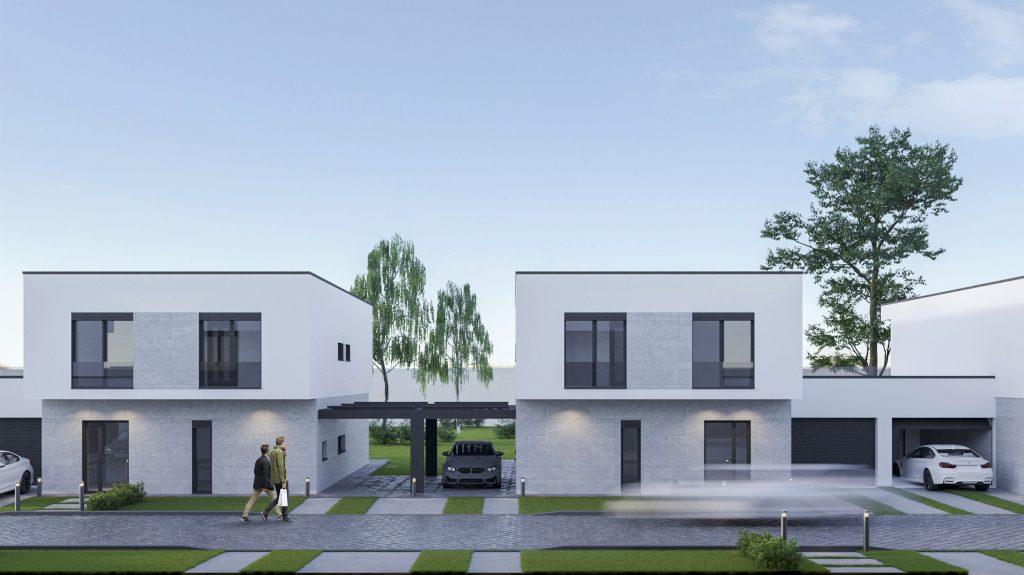 Complex rezidențial cu locuri de parcare