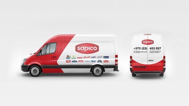 Sapico - брендинг и идентичность с индивидуальными чертами
