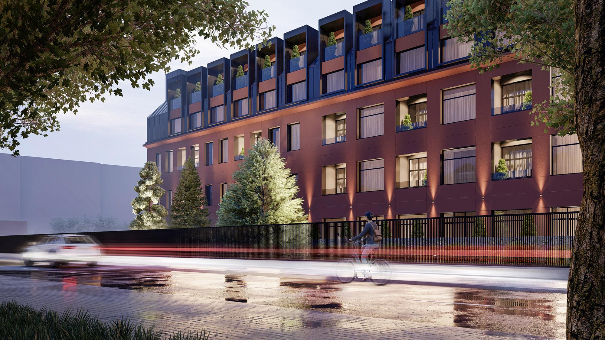 Bloc rezidențial modern proiect arhitectural AB & Partners
