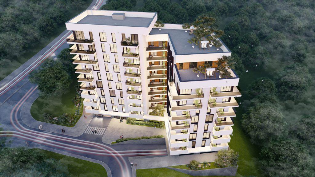 Proiect arhitectural de bloc de locuit cu respectarea rigorilor tehnice necesare pentru confortul locatarilor