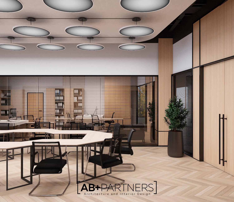 Proiecte de design interior pentru spatii de oficii in Chisinau realizate de catre AB+Partners