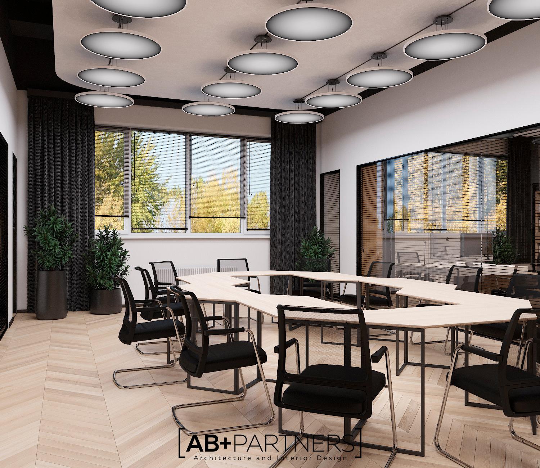 Proiecte de spatii de oficiu cu meeting room-uri comode in Chisinau