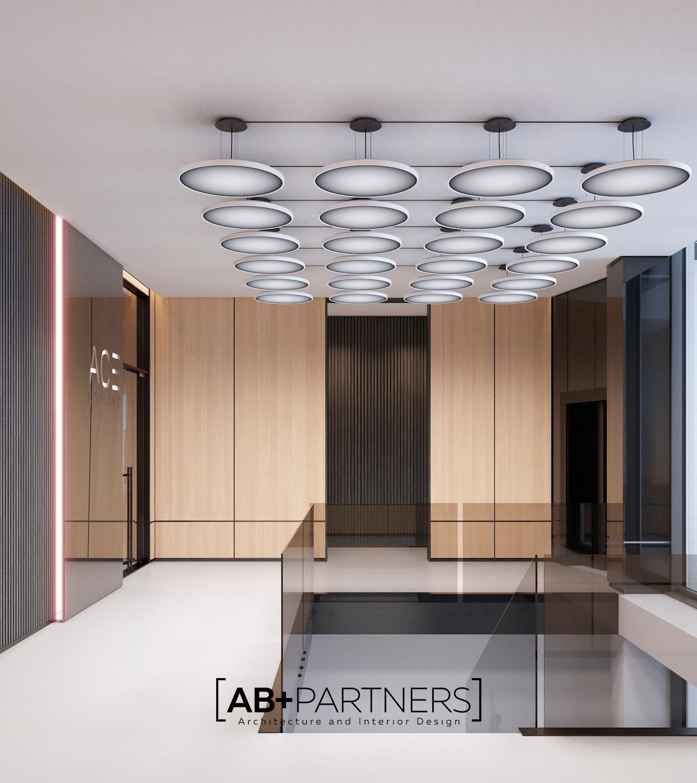 Ace Gablinc oficii moderne in stil minimalist in chisinau
